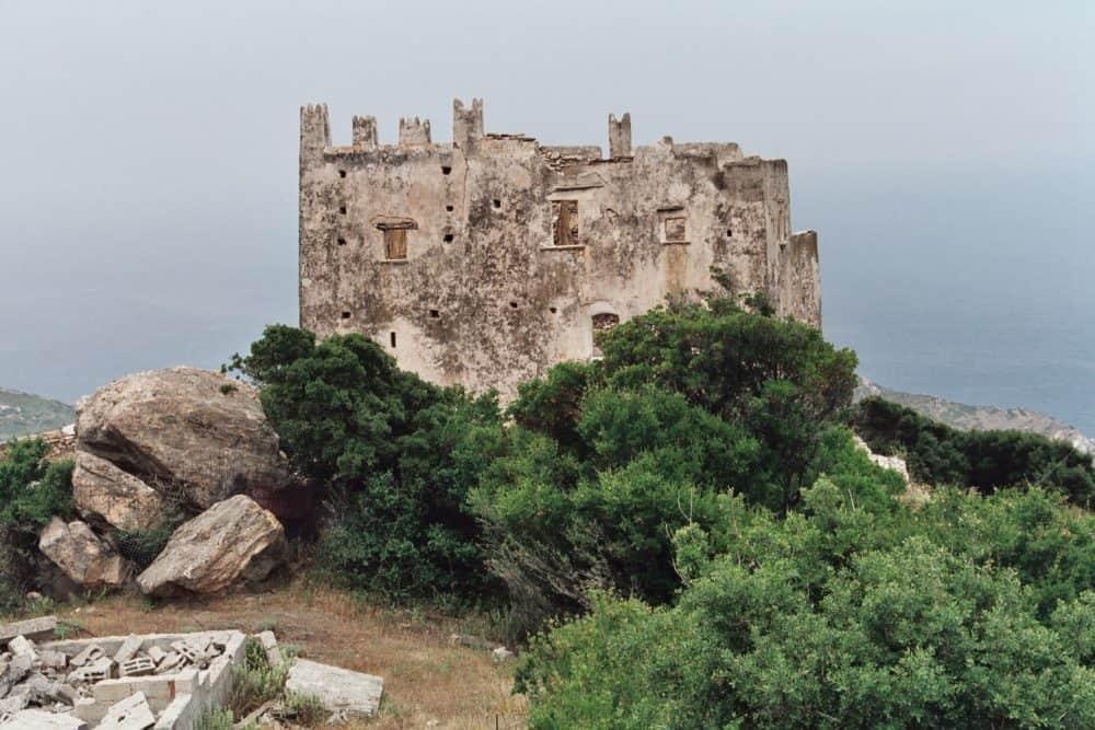 Naxos Venetian Tower. Heiko Gorski photo.