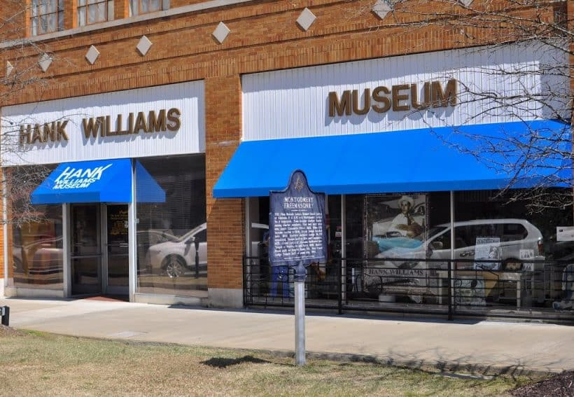 The Hank Williams Museum in Montgomery Alabama opened in 1999.