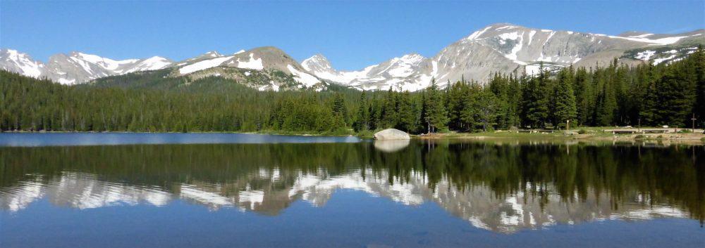 Brainard Lake, Colorado. Rich Grant photos.