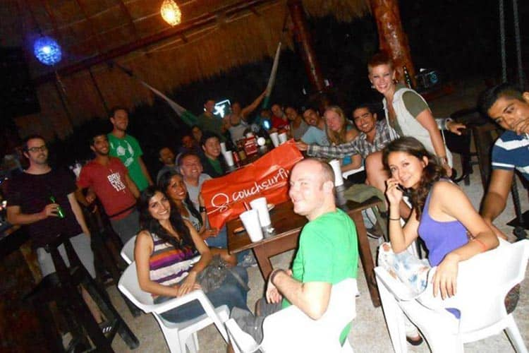 Members of the Couchsurfing community have events all over the world, weekly (depending on location). Check out the events section of the website for updated details.