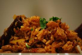 Pilau (also known as plo locally) is one of the local meals you can get in Jamestown with the islands fiery twist added in.