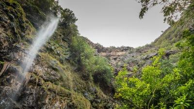 Heart shaped Waterfall is a 45 minute walk each way.