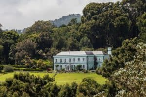 Plantation house, where the governor and Jonathan lives.