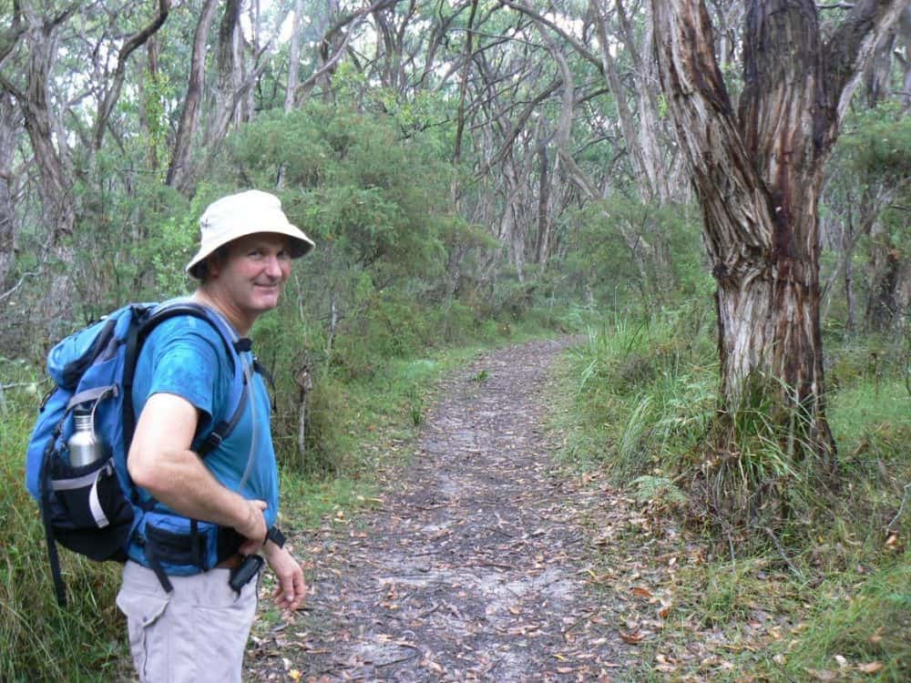 There is also a Great Ocean Walk, and here is one of its trails. Max Hartshorne photo.