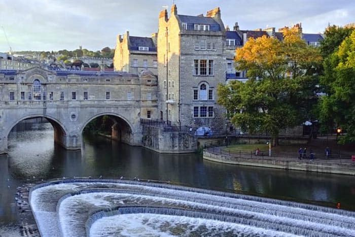 England: Bath Without the Ridiculous Crowd