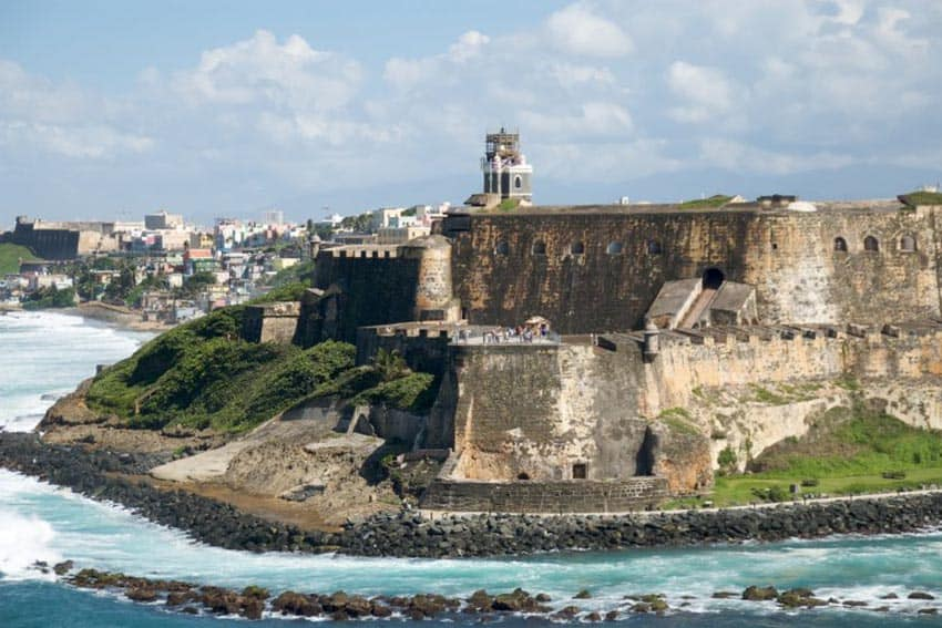 San Juan, Puerto Rico is a popular area for many tourists to explore the culture and entertainment of the island!