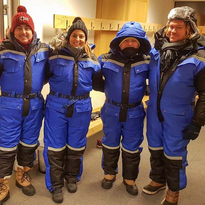 The chill can't penetrate Visit Lapland's gear!