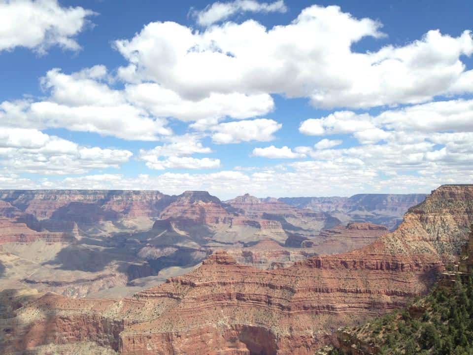 For most travelers, the South Rim is the most popular area offering a visitor's center and plenty of different views of the natural wonder.