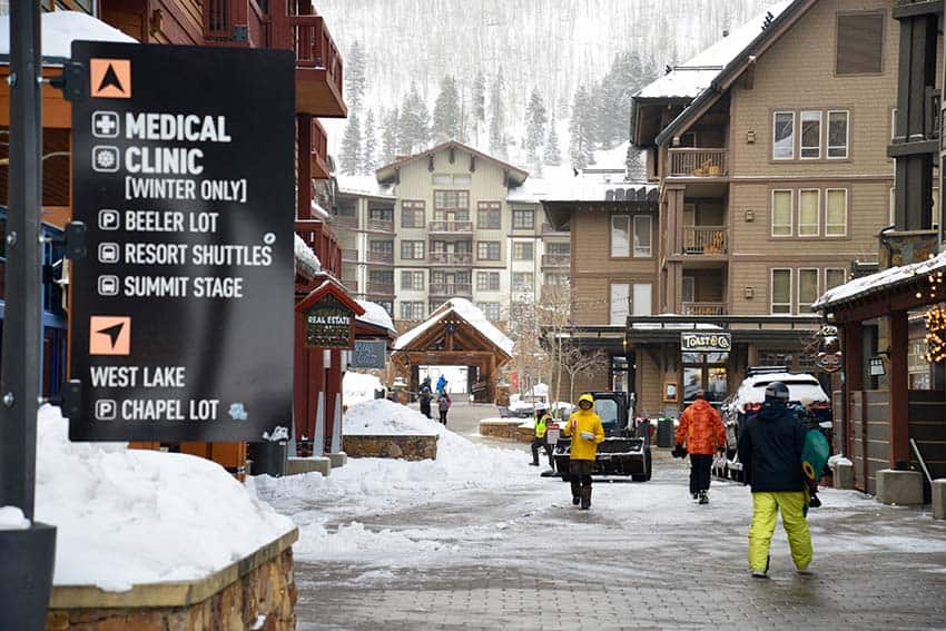 If the oxygen bar isn't doing the trick, the Copper Mountain Medical Clinic is conveniently located near Center Village.
