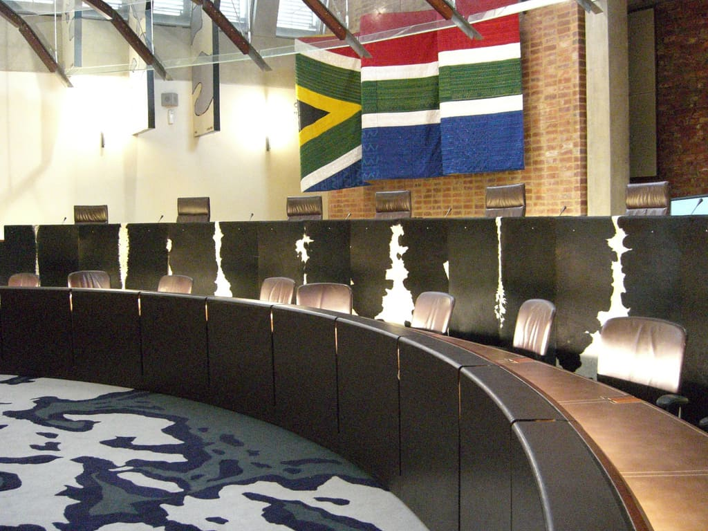 South Africa's Constitutional Court is known as the highest court in the land.
