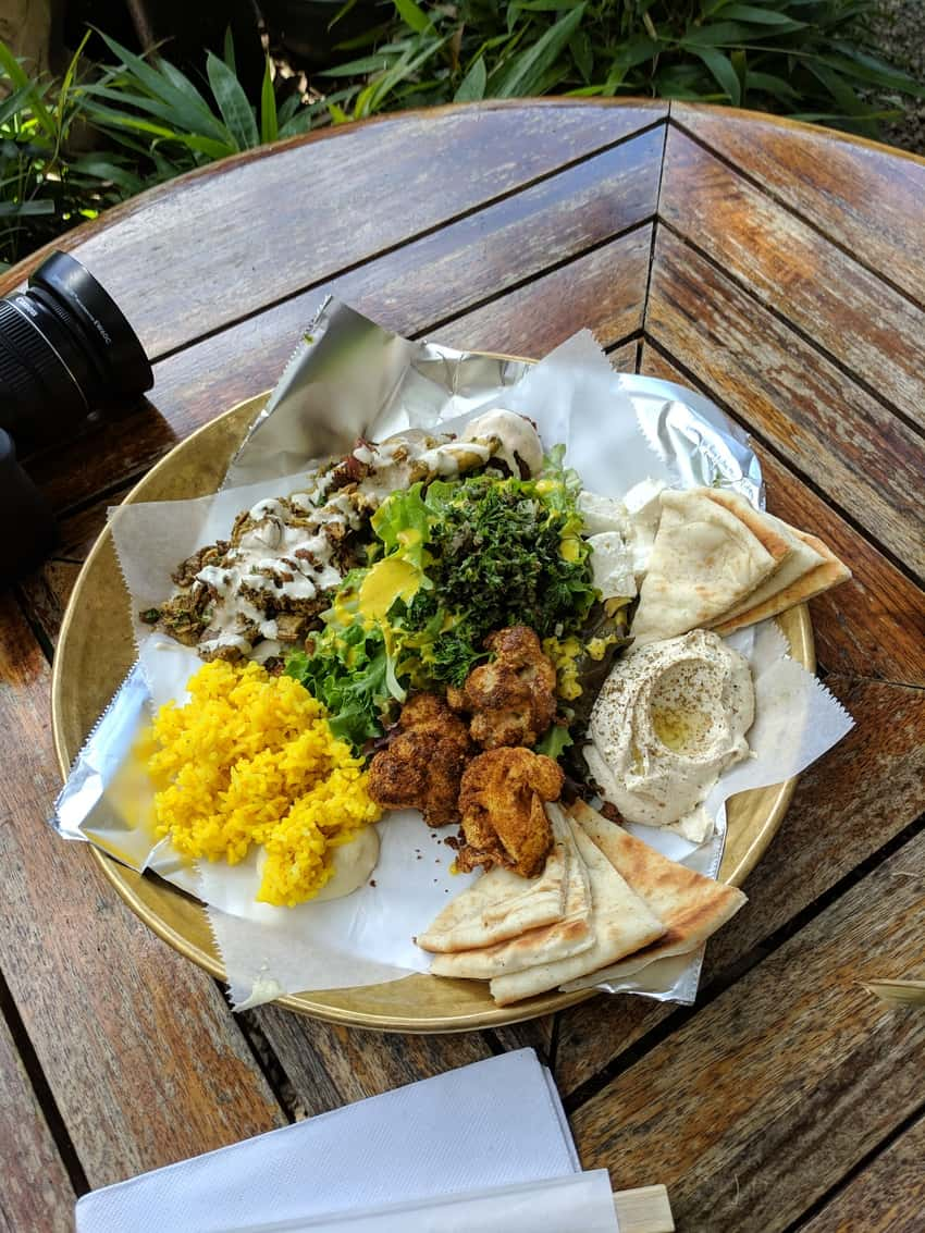 Hibibi Makawao Middle Eastern Street Food.