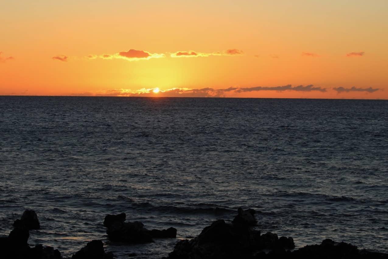 A gorgeous sunset in Kihei. Maui