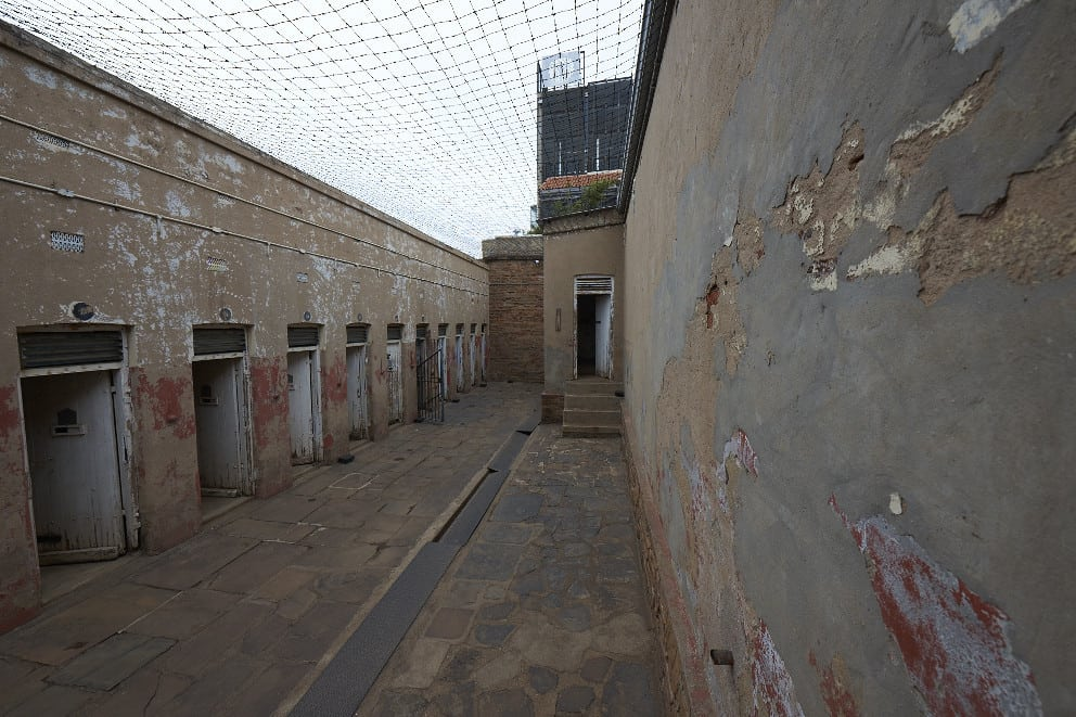 Number Four also called ''Native Prison'' is the section of the Old Fort complex that was reserved for black men.