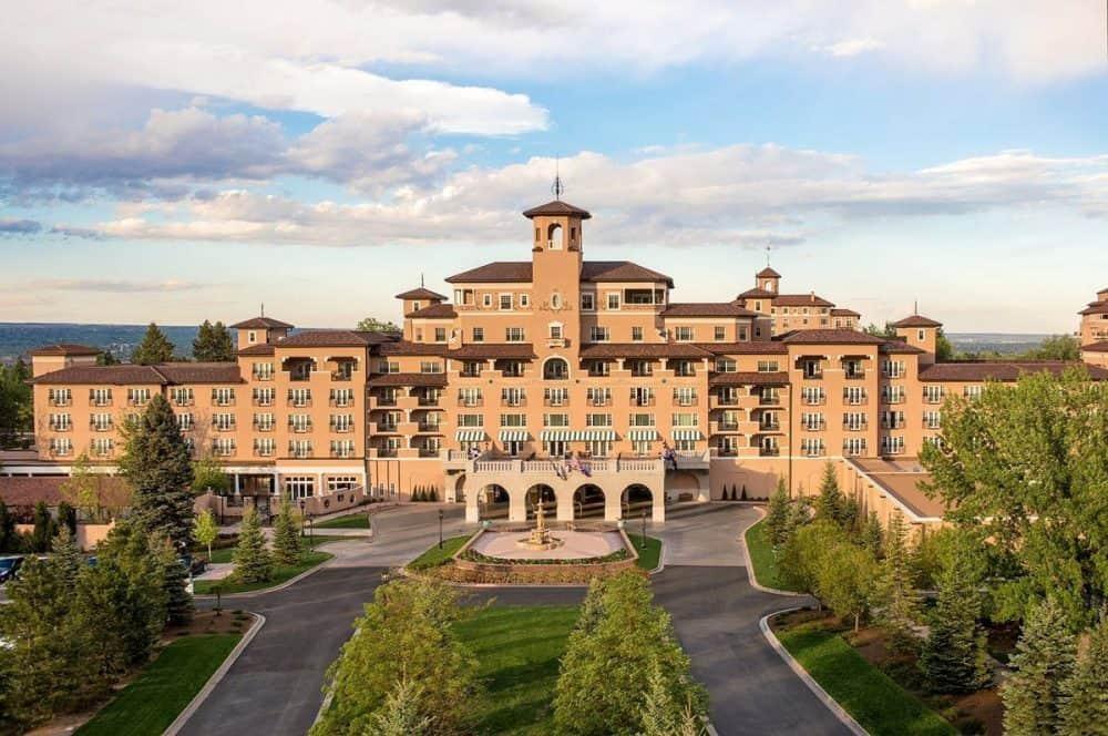 Italianate style Broadmoor Hotel in Colorado. A spectacular building.
