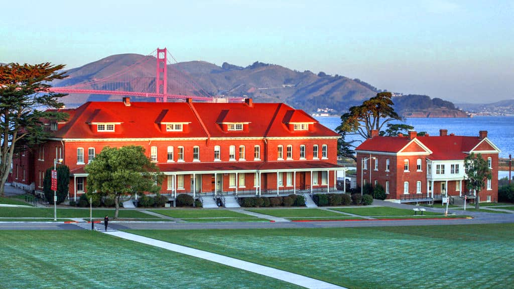 Lodge at the Presidio on San Francisco Bay