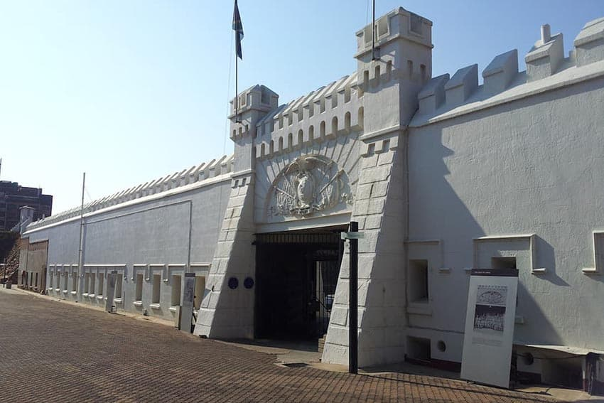 Constitution Hill is situated in the heart of Johannesburg, South Africa.