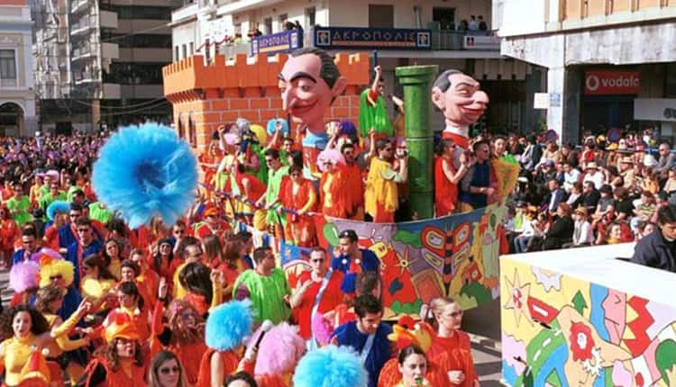 The famous Carnival in Patras, Greece. Gary Van Ness photos.