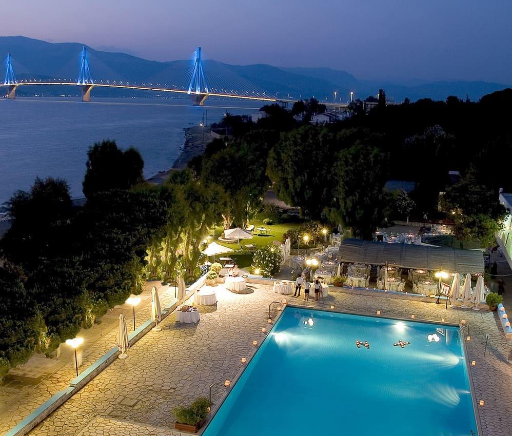 Patras Hotel and Rio Bridge