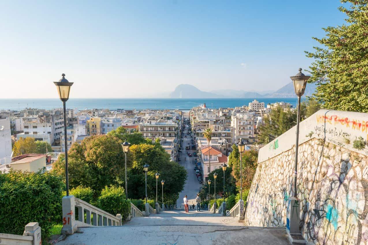 Patras Greece:  A Key Port City of the Peloponnese