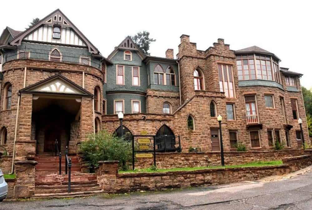 You can visit 30 rooms in the Miramont Castle in Manitou Springs Colorado.