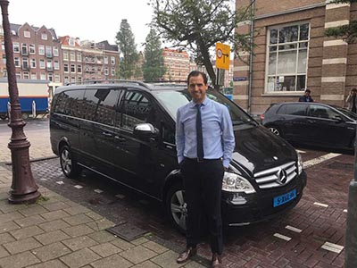 The Black Lane offers VIP pick-ups at 250 airports, including Schiphol in Amsterdam.