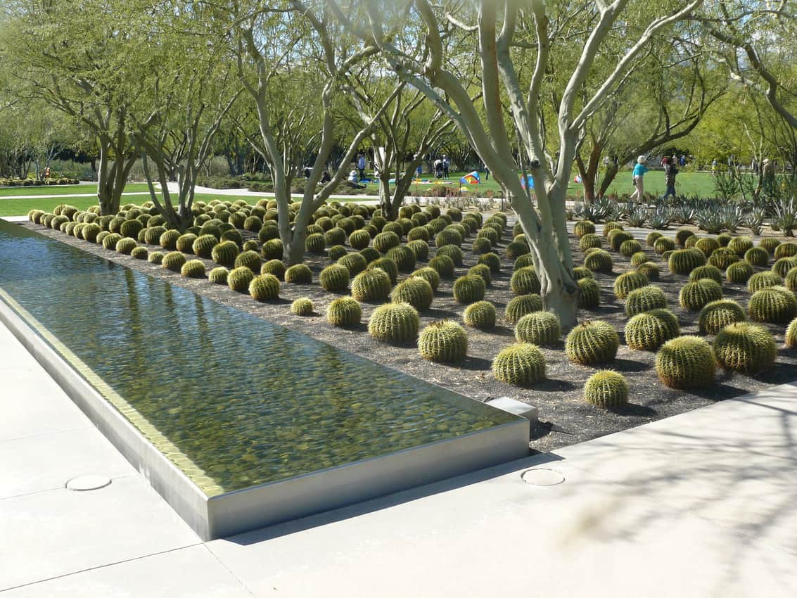 The grounds at Sunnylands, the Annenberg Retreat