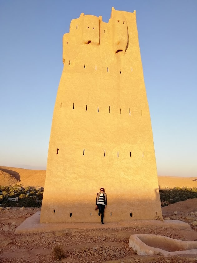 The tower of Ghardaia in Algeria