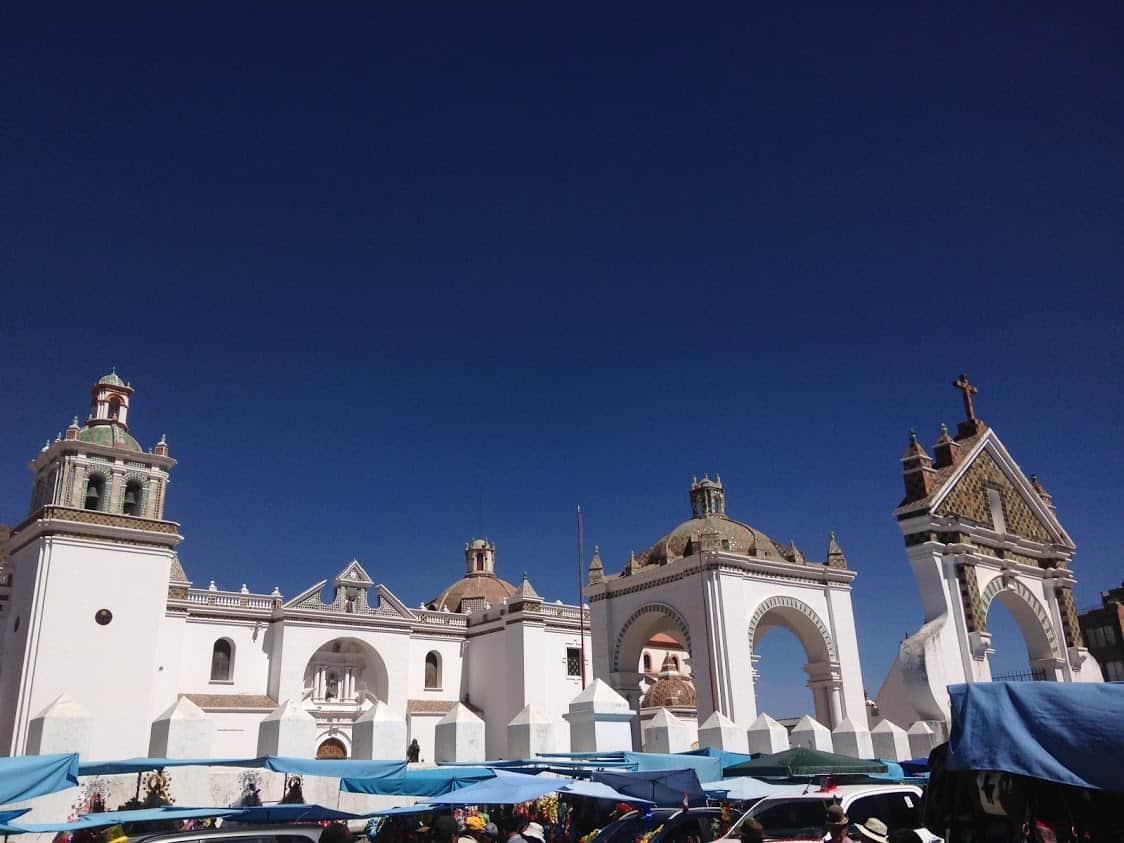Basilica de Copacabana, Bolivia.