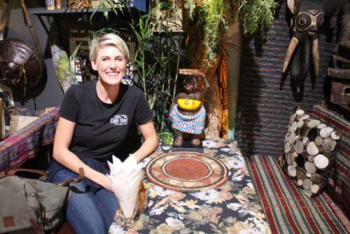 Cape Town Food Safari's owner Elsje.