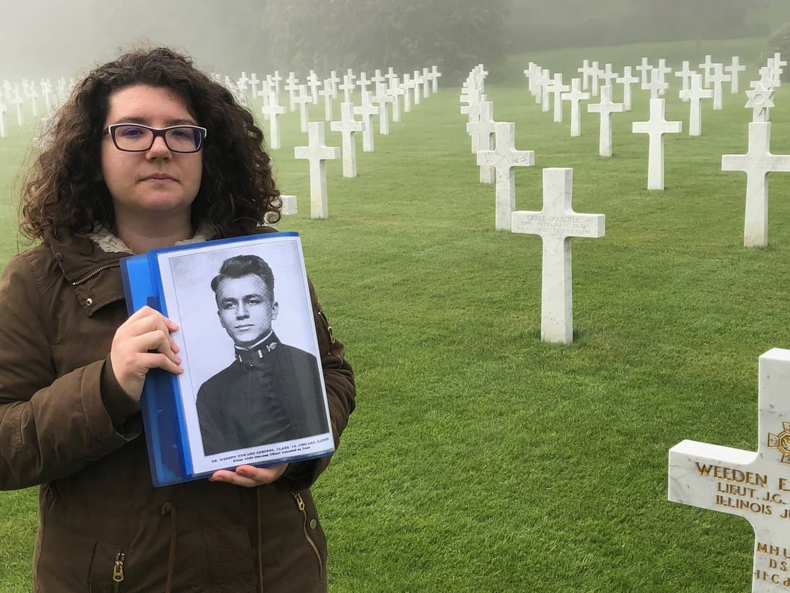 At the Aisne-Marne US cemetery at Belleau Wood, more than 2000 graves each with a story can be seen, you can also take a walk in the wood where battles were fought.