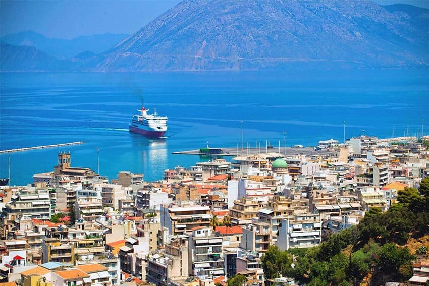 Patras Greece: Key Port City in the Peloponnese