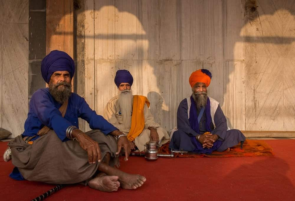 Sikhs who have been baptized are required to wear five items, including a turban to cover uncut hair, a small wooden comb, an iron bangle, a special undergarment, and a dagger.