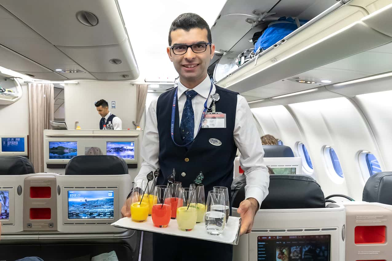 Flying Turkish Airlines Business Class To Istanbul's New Airport