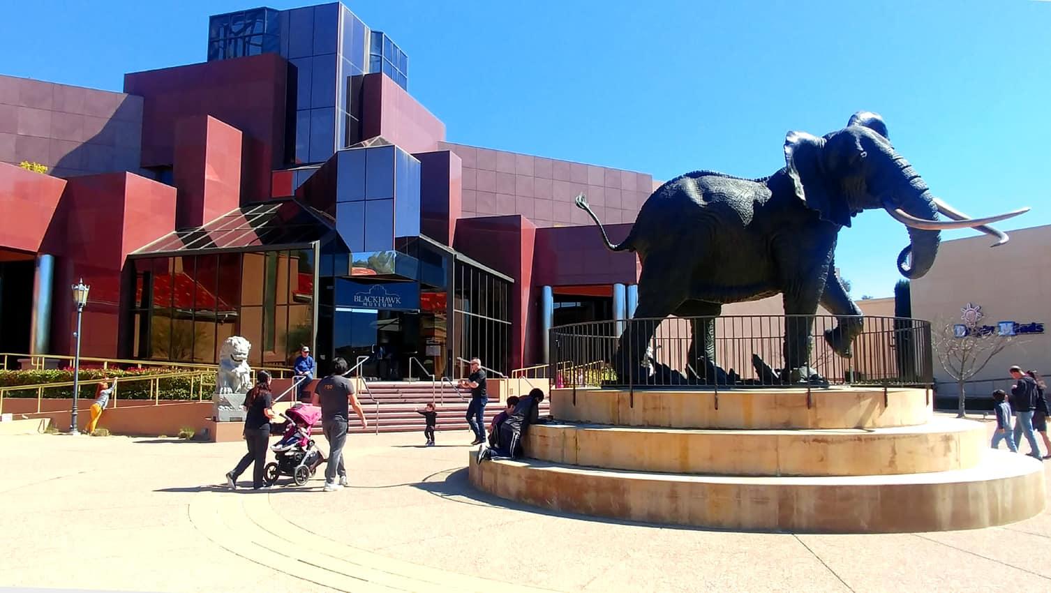 Blackhawk Museum Plaza, Danville CA.