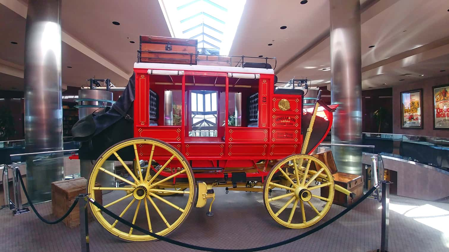 Coach from the Mendocino Coast. It ran between Fort Bragg & Point Arena. Blackhawk Museum, Danville CA.