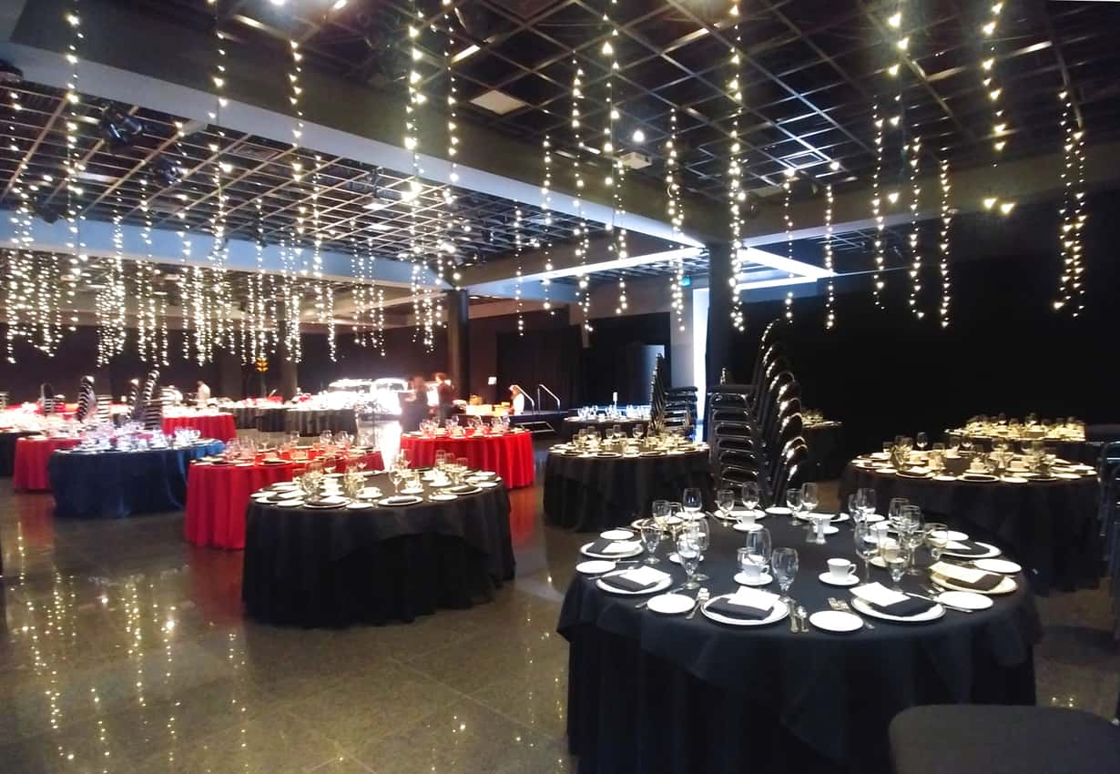 Aumotive Gallery set for a sparkling event. Blackhawk Museum, Danville CA.