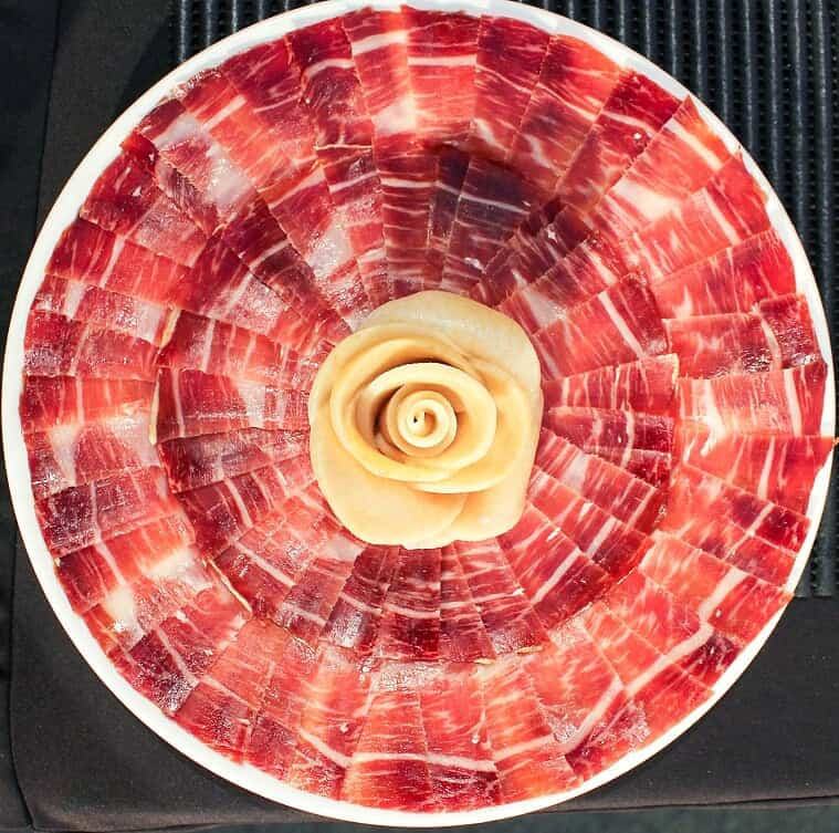 Cutting Iberian ham is an art in Extremadura.