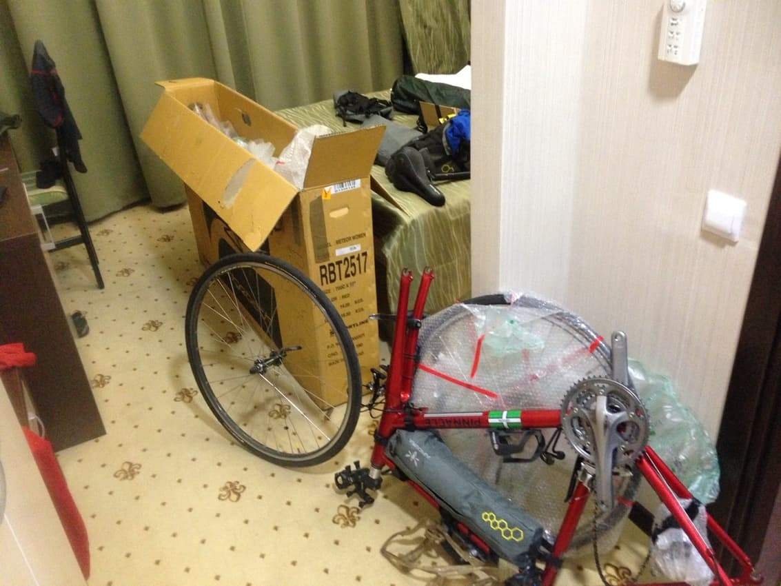 Guinness Quest: Pedaling from Russia to Portugal 3