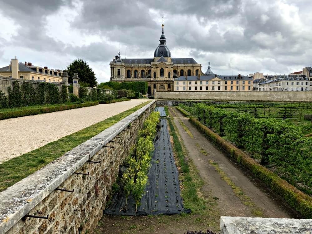 Le Potager du Roi, the King's Garden, an intriguing attraction of Versailles, France. Max Hartshorne photos.