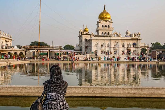 Volunteering in India at the Sikh Temple