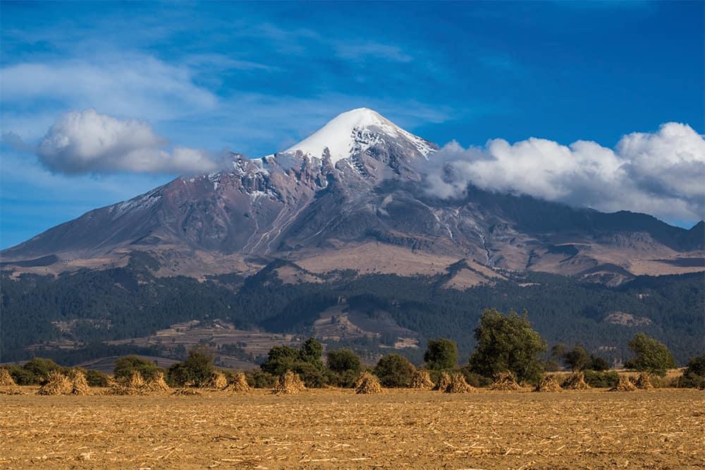 The impressive Orizaba Volcano in Mexico