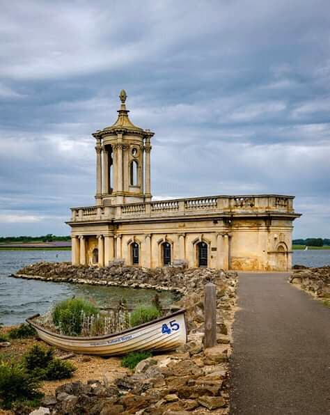 Normanton Church, Rutland Water.