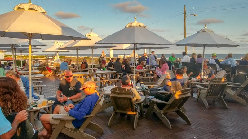 Harry's Rooftop at Montreal Beach Resort in Cape May New Jersey is a go-to hot spot with live tunes and beachfront views.