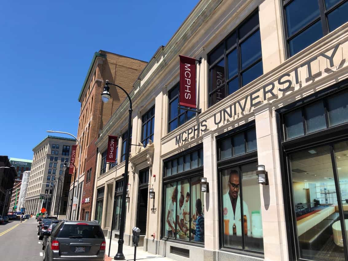 Mass College of Pharmacy is a big college in Worcester that brings new blood into the city.