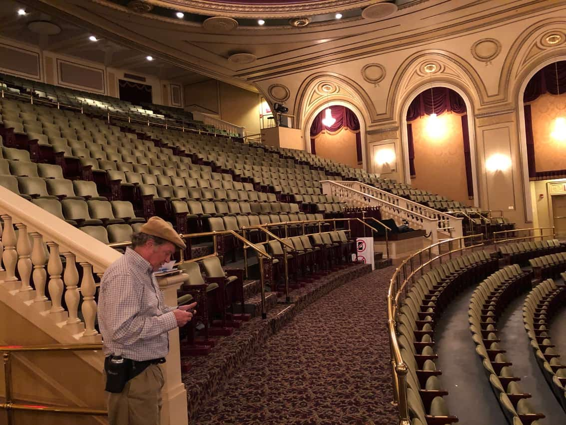 Hanover Theater, a stunning art deco theater in Worcester, Mass.