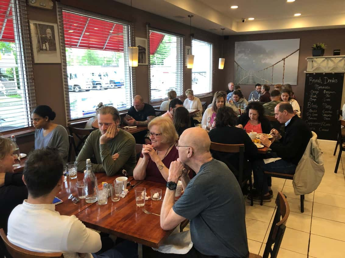 Livia's Dish Sunday Brunch is packed, and for good reasons!