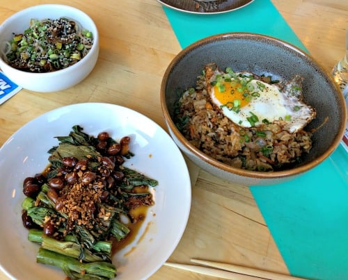 Korean fusion at Simjang Restaurant in Worcester.