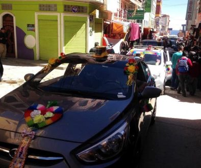 Bolivia's Blessing of the Cars