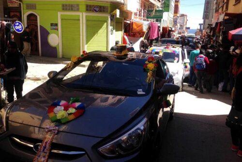 car-procession