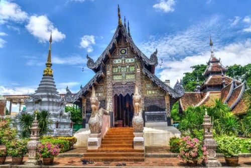 A temple in Chiang Mai Thailand.